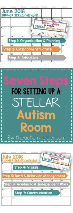 This year we're bringing back a blast from the past & revitalizing my Seven Steps for Setting Up a Stellar Autism Room! We have new content, new stories, new resources & loads and loads of ideas to make your classroom setup GREAT! From theautismhelper.com