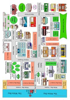 Getting directions 02 worksheet - Free ESL printable worksheets made by teachers
