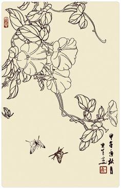 (1) Gallery.ru / Фото #13 - китайские рисунки - ninmix
