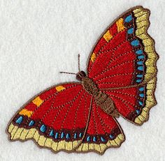 Victorian Flutterby 4 - Solo design (E3967) from www.Emblibrary.com