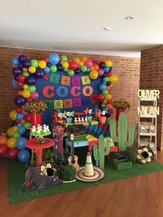Mexican Party Ideas, Day of the dead Mexican Birthday Parties, Mexican Party, Mexican Style, Coco Disney, Fiesta Theme Party, Birthday Party Decorations, 2nd Birthday, Birthday Ideas, Birthdays