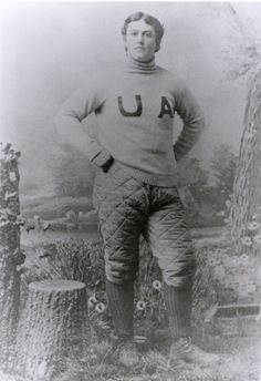 A photo of William Little form the 1892 University of Alabama football team. (Courtesy of the Bear Bryant Museum) Alabama Athletics, Alabama Football Team, Crimson Tide Football, Football Baby, University Of Alabama, Alabama Crimson Tide, Football Season, Uofa Football, Football Pictures