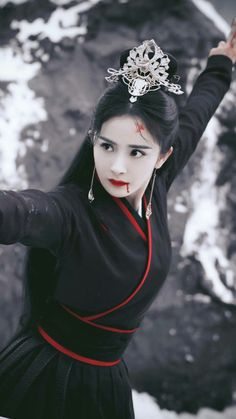 Yang Mi 杨幂 The Legend of Fu Yao 扶摇 2018 - bigoltrucks Fantasy Photography, Warrior Girl, China Girl, Oriental Fashion, Chinese Actress, Beautiful Asian Girls, Traditional Dresses, Asian Beauty, Chinese Culture