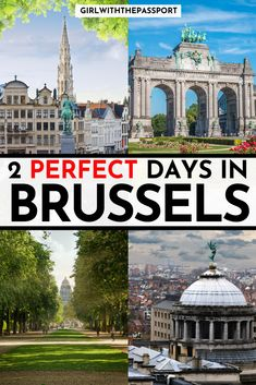 2 Perfect Days in Brussels - Farr Jumont Road Trip Europe, Backpacking Europe, Europe Travel Guide, Travel Guides, European Vacation, European Travel, Visit Belgium, Belgium Hotels, Travel Belgium