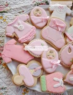 Baby Shower Cookies by vgoostree