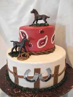 Elegant Picture of Cowboy Birthday Cake Cowboy Birthday Cake Horse Themed Bi. Birthday Cake 30, Western Birthday Cakes, Western Wedding Cakes, Western Cakes, Cowboy Cakes, Horse Birthday Parties, Cowboy Birthday Party, Novelty Birthday Cakes, Horse Birthday Cakes