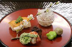 新館にて 春の会席料理です | 鉢の木日記 | 鎌倉 鉢の木