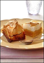 Caramel meringue slice. Picture / Carolyn Robertson