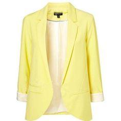 Yellow Blazer - Shop for Yellow Blazer at Polyvore