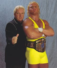 Curt Hennig with Bobby Heenan.  Two of my favorite wrestling personalities in the history of the sport.