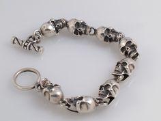 Skull Toggle bracelet.