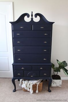 Dwellings By DeVore: Antique Highboy Makeover