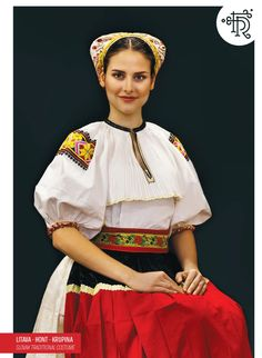 Slovakia Folk Costume, Costumes, Traditional Outfits, Snow White, Embroidery, Disney Princess, Disney Characters, Inspiration, Dresses