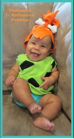 Pebbles infant Halloween costume! Such a cutie!  sc 1 st  Pinterest & Letu0027s see photos of last yearu0027s Halloween costumes!!! - Page 2 ...