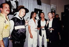 Depeche Mode at radio station 1990