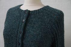 Tweed raglan cardigan - Kvinder - Charlotte Tøndering - Designere