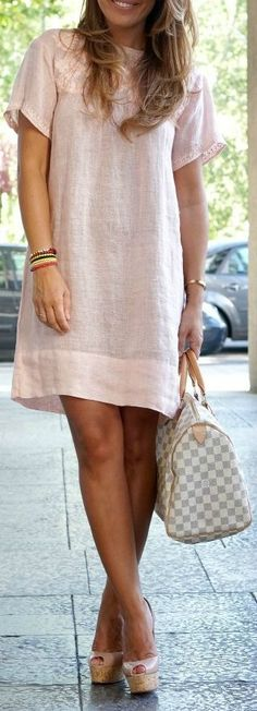 Moda Verano Casual Outfits Simple 50 Ideas For 2019 Trendy Dresses, Cute Dresses, Casual Dresses, Short Dresses, Casual Outfits, Dress Long, Loose Summer Dresses, Linen Dresses, Dress Outfits