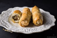Phyllo Dough Meat Rolls :http://www.themediterraneandish.com/phyllo-dough-recipe-meat/