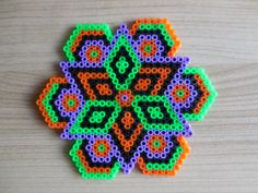 Halloween ornament Halloween Mandala Hama Beads Halloween