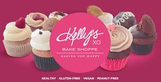 Kelly's Bake Shoppe - Cupcakes and Cookies and Brownies - Oh My! Love Cupcakes, Penne, Brownies, About Me Blog, Cookies, Thoughts, Baking, Healthy, Desserts