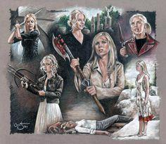 Every Buffy finale