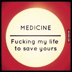 For all med students out there. For all med students out there. Medical Student Humor, Medical Jokes, Medical School, Vie Motivation, Student Motivation, Med Student, Student Life, School Quotes, School Humor