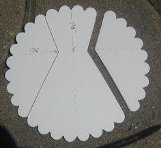 Keenan Kreations: Scallop Circle dress and directions