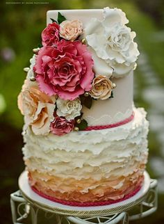 2014 Wedding Cakes 3 Tiered