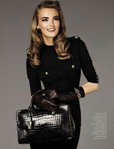 Ymre Stiekema by Giampaolo Sgura for Vogue Spain...