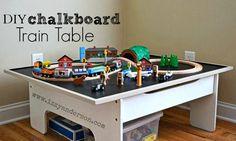 22 best wooden train set tables images wooden train train set rh pinterest com