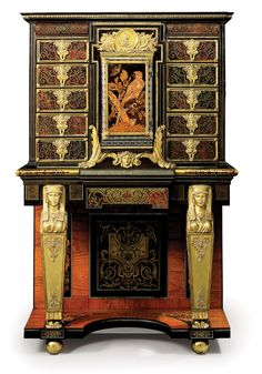 André-Charles Boulle, The Wrotham Cabinet - A Louis XIV cabinet-on-stand, circa 1680. Christie's