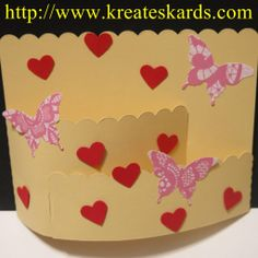Valentines Using Stampin' Up! Framelits