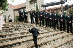 Aristide | Walters Wedding Estates | Mansfield | Wedding Venue | Ceremony | Wedding Day | Ring Bearer | Outside | Outdoors | Stairs | Steps