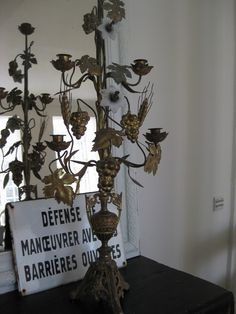 French candelabra.