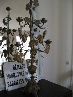 French candelabra.