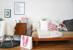 think pink! #interior #einrichtung #dekoration #decoration #ideas #ideen #vintage #wohnzimmer #livingroom #vintagewohnzimmer Foto: hello-mrs-eve