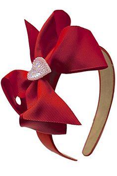 Funny Girl Designs Valentines Day Beaded Heart Girls Grosgrain Bow Arch Headband Funny Girl Designs http://www.amazon.com/dp/B00B0YSMUA/ref=cm_sw_r_pi_dp_73fLwb008SMCN
