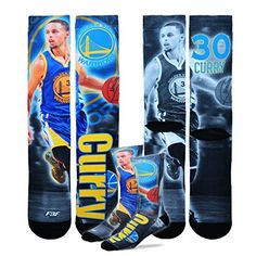 Golden State Warriors NBA Drive Crew Socks 1 Pair - Steph...