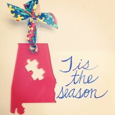 Autism Awareness Holiday Ornaments from ASA. $12 includes shipping and handling!