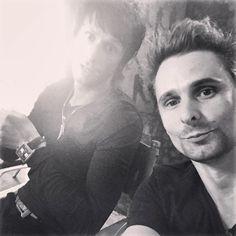 Dom Howard and Matt Bellamy ~ Muse
