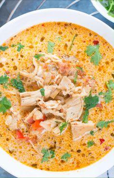 Keto Crockpot Recipes, Soup Recipes, Chicken Recipes, Dinner Recipes, Kraft Recipes, Healthy Recipes, Crockpot Meals, Cooker Recipes, Healthy Foods