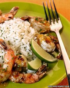 Simple Supper: Tequila-Orange Grilled Shrimp Recipe | Cooking | How To | Martha Stewart Recipes