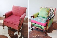 So what to do this - patchwork chair