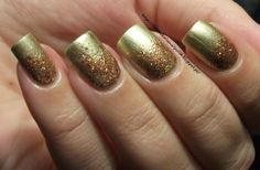 Barry M Gold Instant Nail Effects & Shimmer Carmen