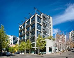 The award winning Banner Building located at 80 Vine Street, Seattle, Washington was built in 1994 and is comprised of 25 residential units with 5-6 commercial spaces.
