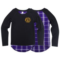 Please check our FAQ Page for current production times on personalized items.  Showing your team spirit has never been more fashionable!  Our Team Player top is fun, trendy, and super easy to style for game day!  Pair with your favorite skinny jeans and sneakers, and you are set for a day for cheering in the stands of your #1 team!  Dress it up with a monogram!