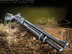 Back to the tactical bag -The Border Patrol 12 gauge pump action shotgun from Wilson Combat provides users with a custom-tuned scattergun capable of devastating performance.
