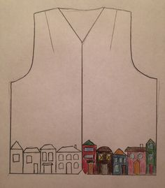 Quiet Room: Come up and sew patchwork waistcoat.