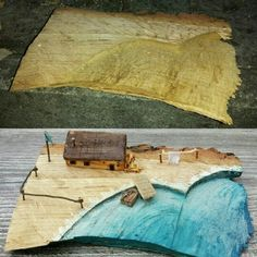 Fisherman's house - made from old drifted wood.