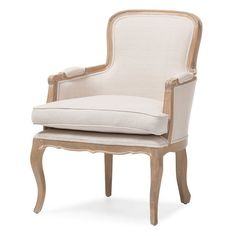 Found it at Wayfair - Calla Traditional French Arm Chair